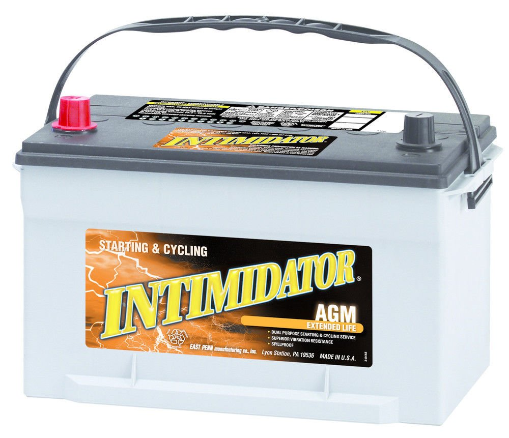 Deka Intimidator Extended Life AGM Battery 9A65
