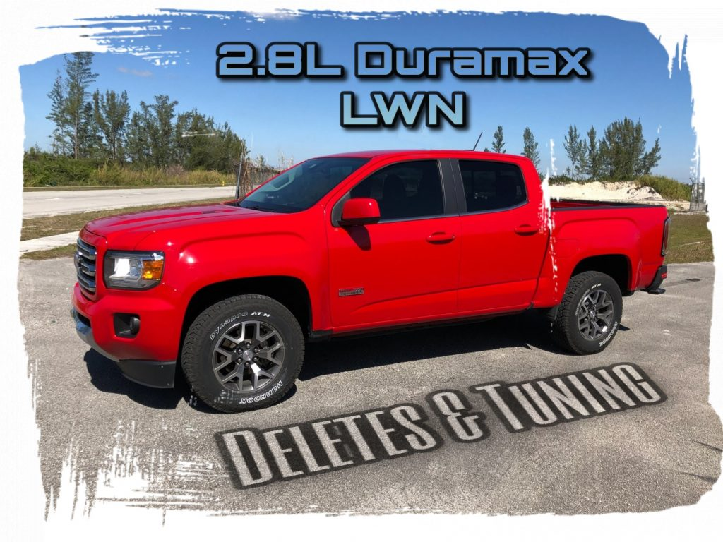 Duramax Def Delete >> Deleting and tuning the 2.8L Duramax LWN | Remove DPF, DEF and EGR - DieselPowerUp