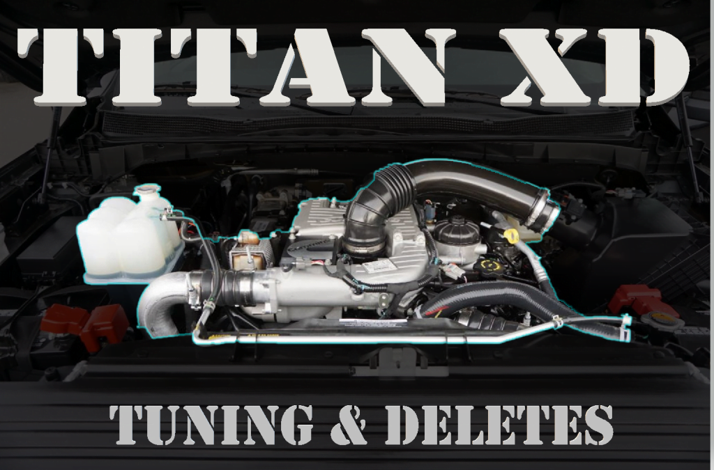 Nissan Titan XD 5 0L Cummins Deletes and Tuning (DPF, SCR and EGR