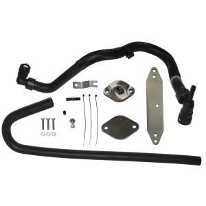 EGR Cooler Delete Kit for 11-16 Ford PowerStroke 6.7L