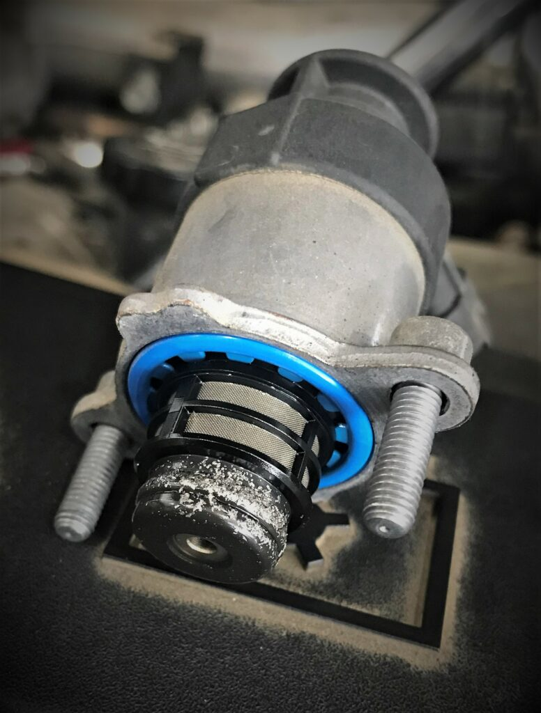 Powerstroke contaminated fuel system after Bosch CP4 failure